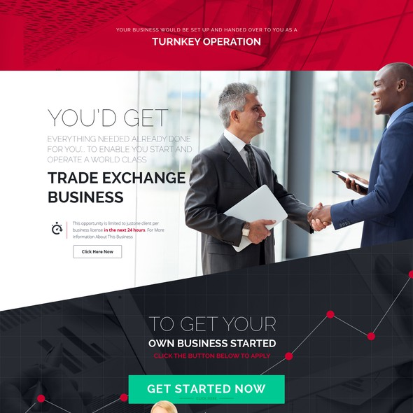Typography website with the title 'Design A World Class Investment Opportunity Website. OPEN TO ALLDESIGNERS!!!'