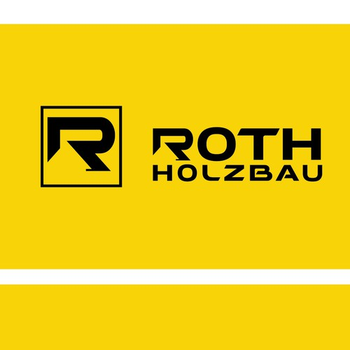 Timber design with the title 'simple logo for Roth Holzbau company'