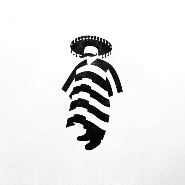Sombrero design with the title 'Señor'