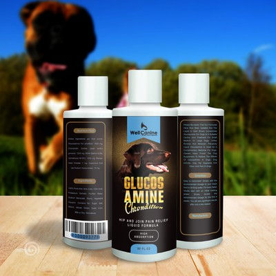 GLUCOS AMINE LABEL FOR DOG