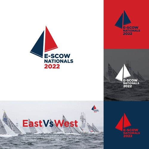 Series logo with the title 'E Scow National 2022'