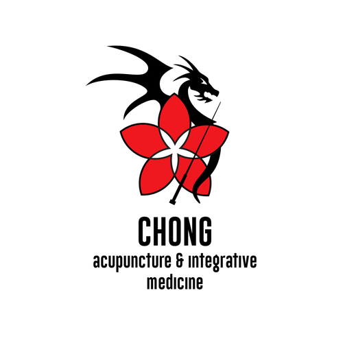 Eastern logo with the title 'Acupuncture Dragon'