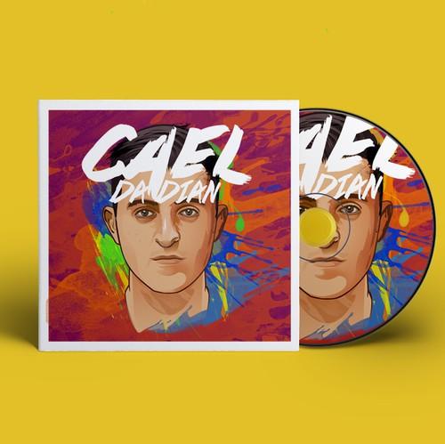 Hip hop design with the title 'Pop/R&B/Hip-hop Album Cover'