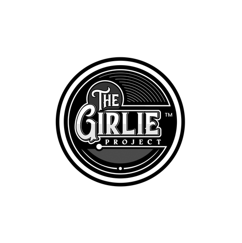 Jacket logo with the title 'The Girlie Project'