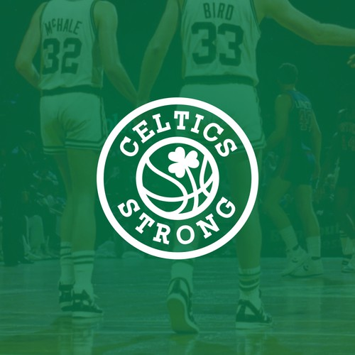 Celtic knot logo with the title 'Celtics Strong needs an official logo'