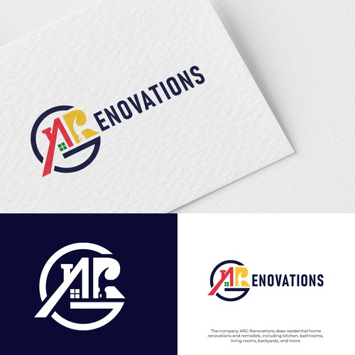 Renovation design with the title 'ARG Renovation'