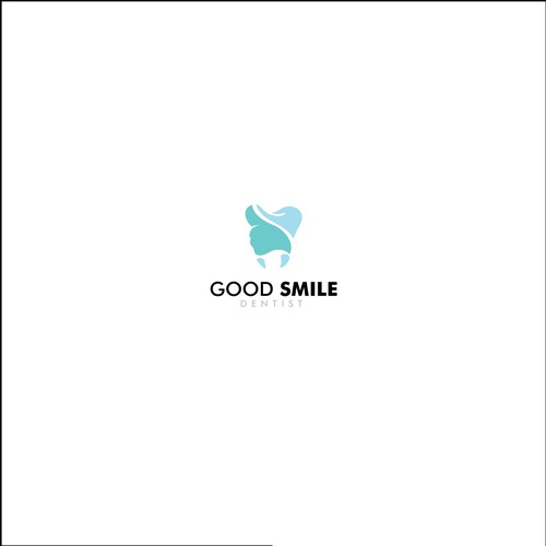 Thumbs up logo with the title 'Speak logo for Good Smile Dentist'