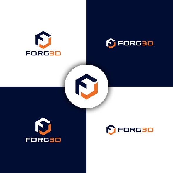 F logo with the title 'FORG3D'
