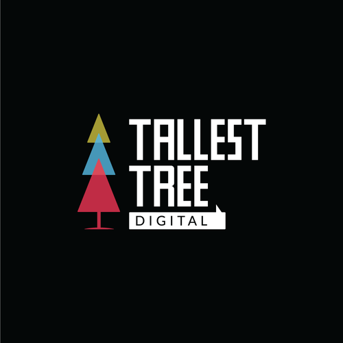 Digital agency logo with the title 'Tallest Tree Digital'