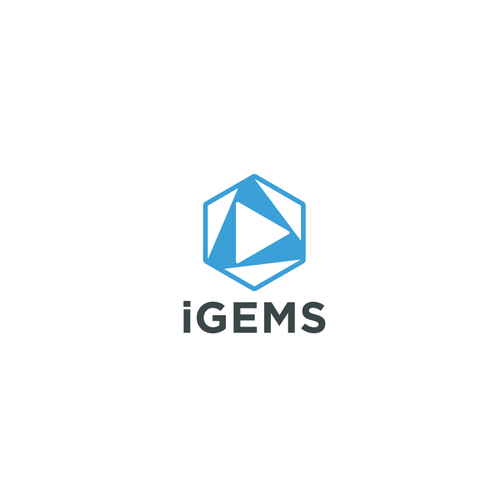 Gemstone logo with the title 'Logo for iGems'