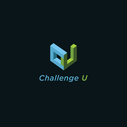 E-learning design with the title 'Logo for Challenge U'