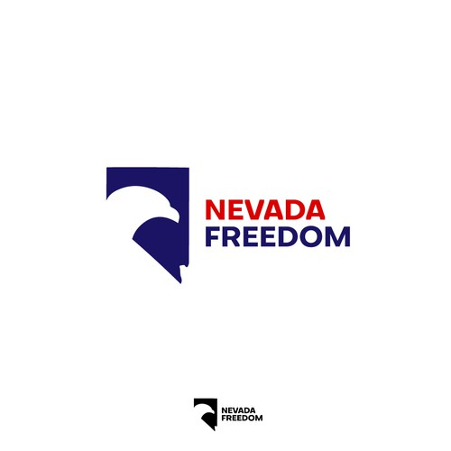 Nevada logo with the title 'Logo for political action committee Nevada Freedom'