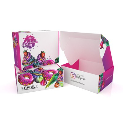 PRODUCT PACKAGING FOR CAKE ME CRAZY