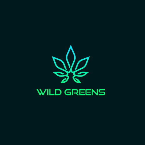 Medic logo with the title 'Wild Greens logo design'