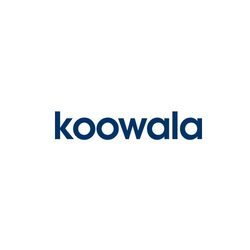 Koala design with the title 'Logo Design for Koowala'
