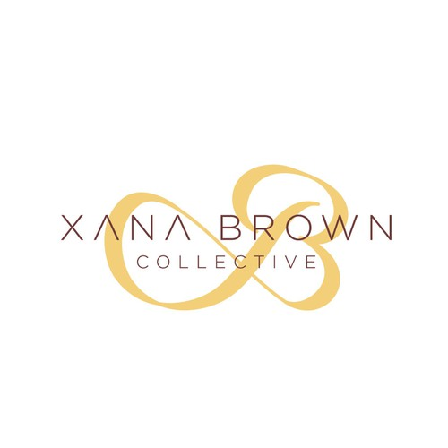 Collective logo with the title 'XANA BROWN'