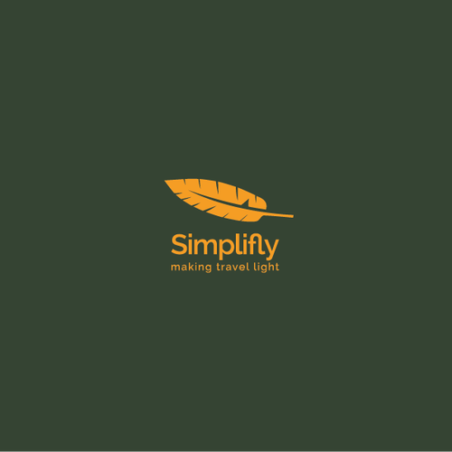 Clean and simple logo with the title 'Simplifly Logo'