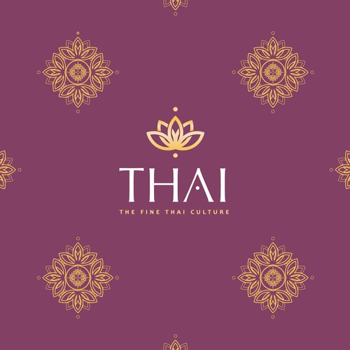 Regal design with the title 'Thai Center Logo'