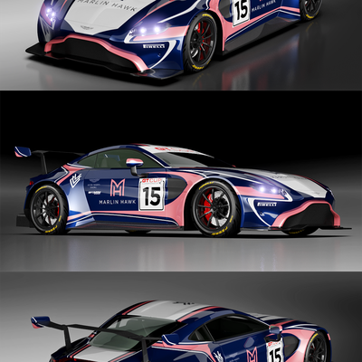ASTON MARTIN Race Car Livery