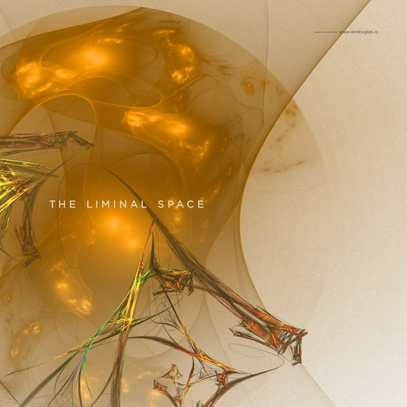 Trauma logo with the title 'Evocative mark for The Liminal Space'