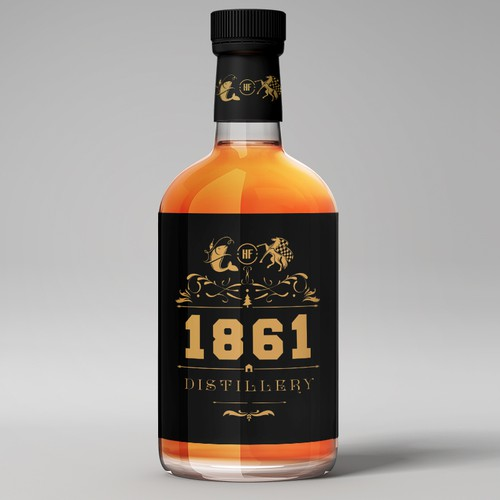 Distillery brand with the title '1861 Distillery '