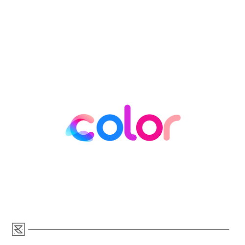 Full color logo with the title 'color research'