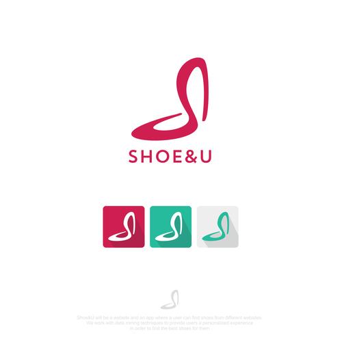 Shoe logo with the title 'shoe&u'