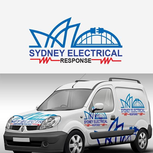Sydney logo with the title 'Sydney electrical '