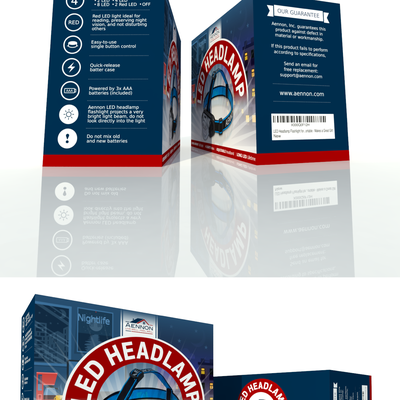 Packaging for headlamp