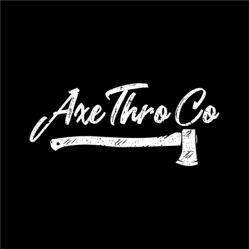 Axe logo with the title 'Winner of Axe Thro Co Contest'