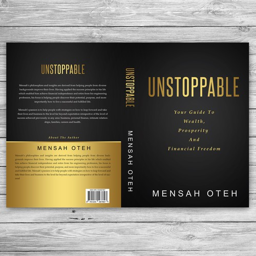 Financial book cover with the title 'UNSTOPPABLE (Wealth Code)'