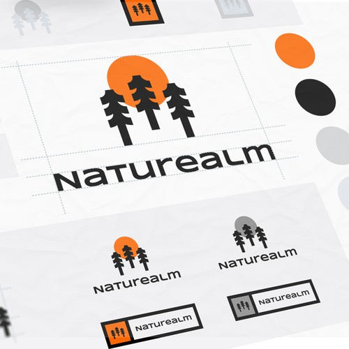 Organic brand with the title 'Naturealm'