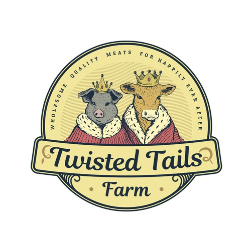 Queen logo with the title 'Twisted Tails'