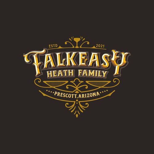 Speakeasy logo with the title 'TALKEASY'