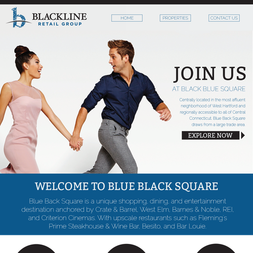 Shopping design with the title 'Email Template for Shopping Mall'