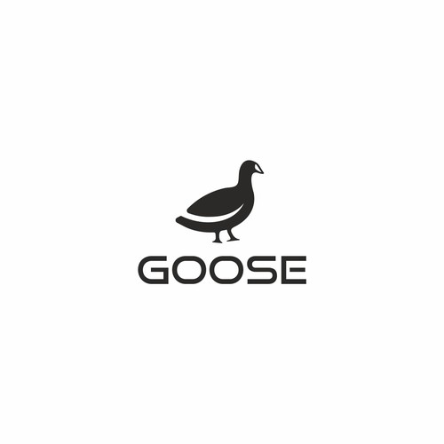 Goose design with the title 'Goose logo'