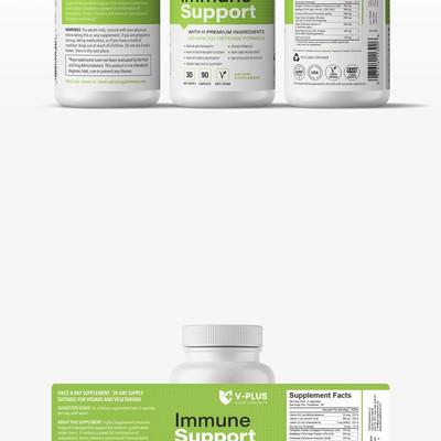 Supplement Label Design