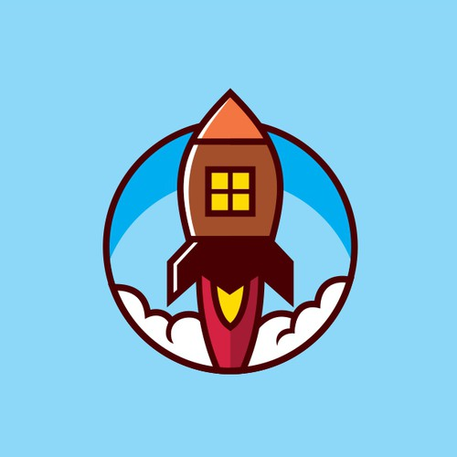 Property brand with the title 'Rocket home'