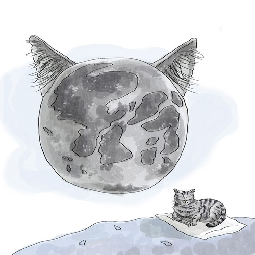 Gradient artwork with the title 'Clean Lunar Cat'