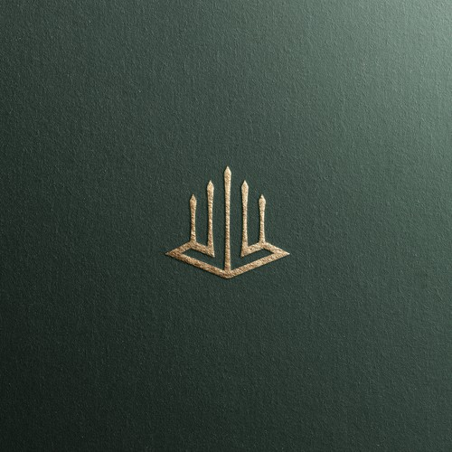 Residential logo with the title 'Luxury Residential Logo Design'