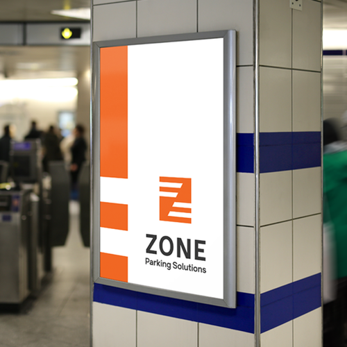 Architect logo with the title 'Zone - Parking solutions'
