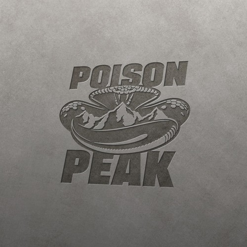 Rugged logo with the title 'Snake Mountain Logo for Off Roads Gear Brand'
