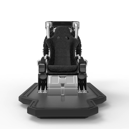 Metal illustration with the title 'Chair prototype'