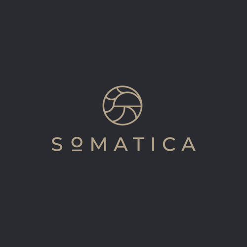Mushroom logo with the title 'Somatica'