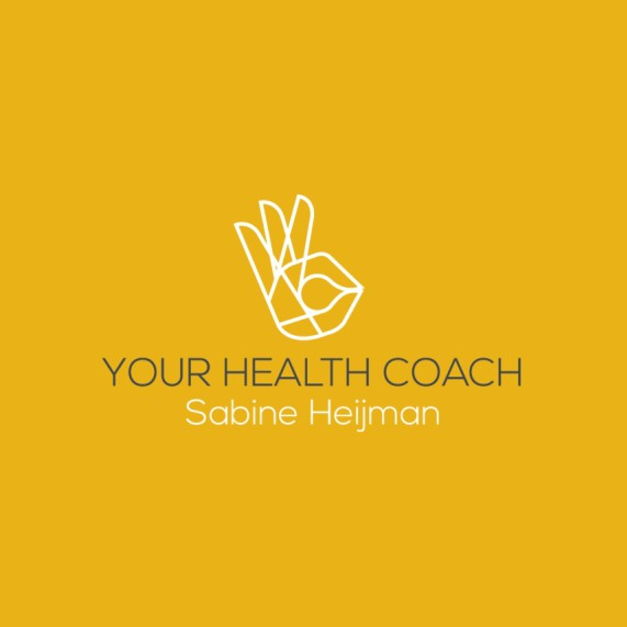 Training brand with the title 'Health coach branding package'