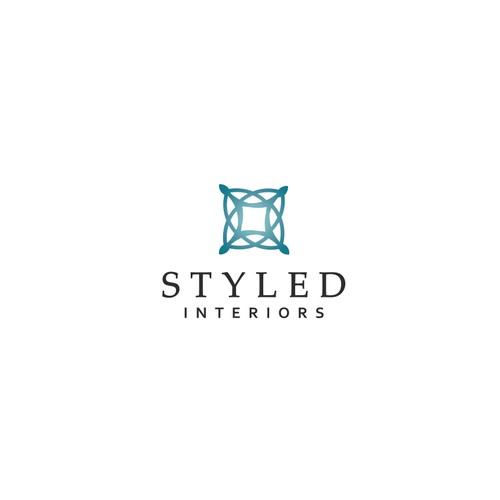 Interior decoration design with the title 'Stylish logo for new Interior Designer'