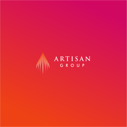 High design with the title 'Letter A Logo for Artisan'