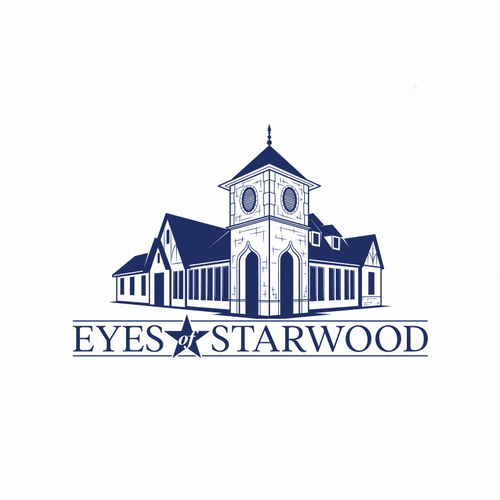 Glass logo with the title 'Eyes of Starwood'
