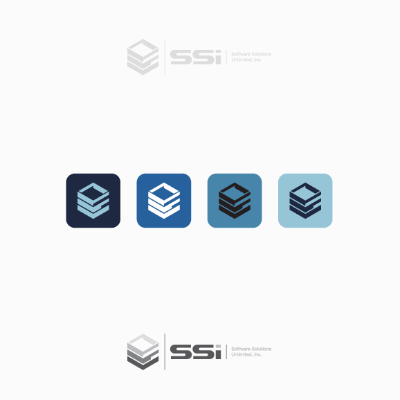 Vertical logo with the title 'Logo for SSI'