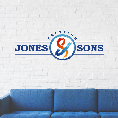Ampersand design with the title 'Jones & Sons'